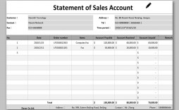 002 Phenomenal Statement Of Account Template Image  Singapore Excel Free Doc