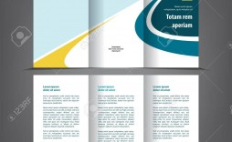 002 Phenomenal Three Fold Brochure Template High Resolution  Free 3 Psd A4 Indesign