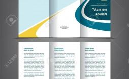 002 Phenomenal Three Fold Brochure Template High Resolution  3 Psd Free Download Word Photoshop