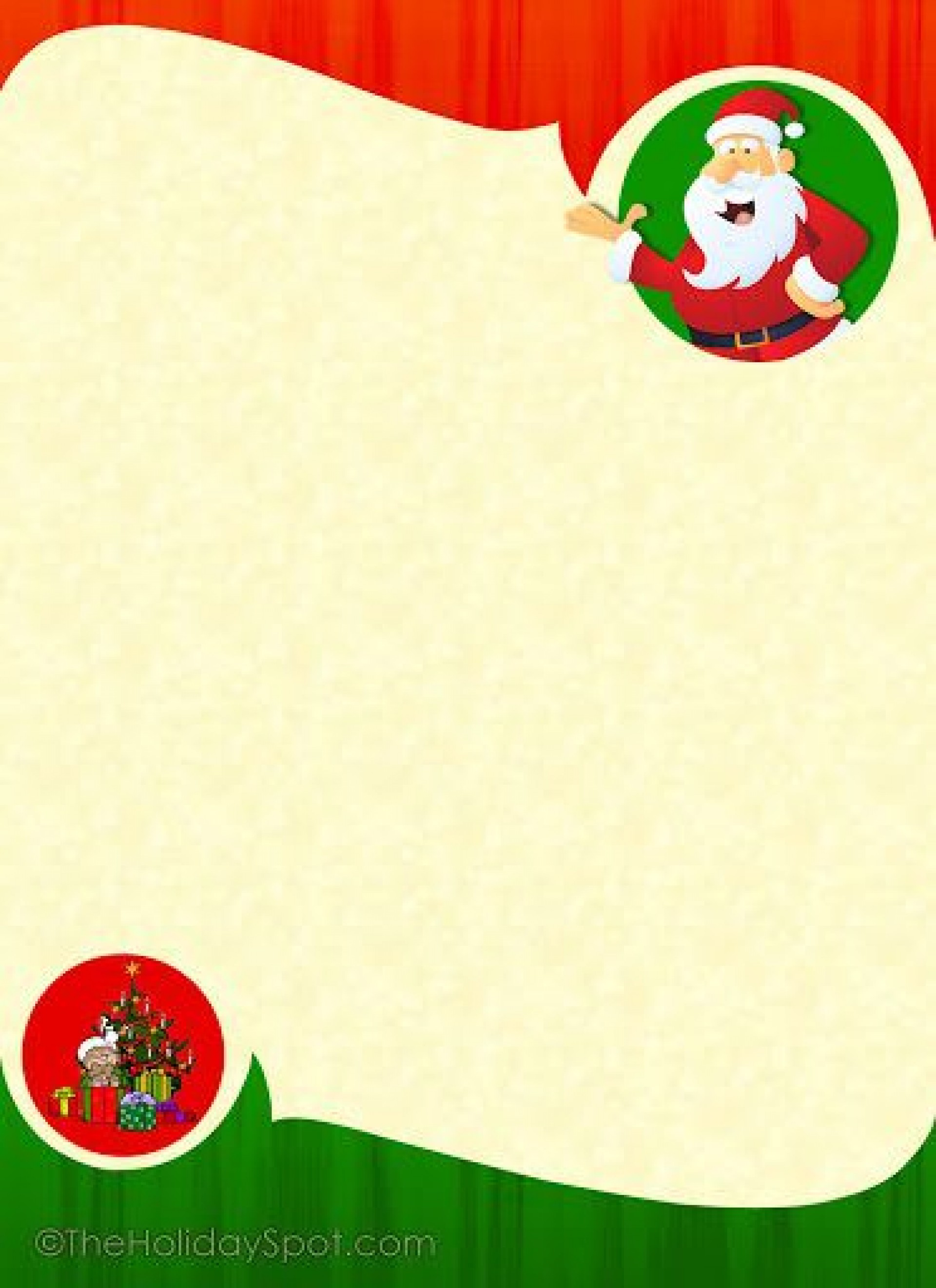 002 Rare Christma Stationery Template Microsoft Word Highest Clarity  Free1920