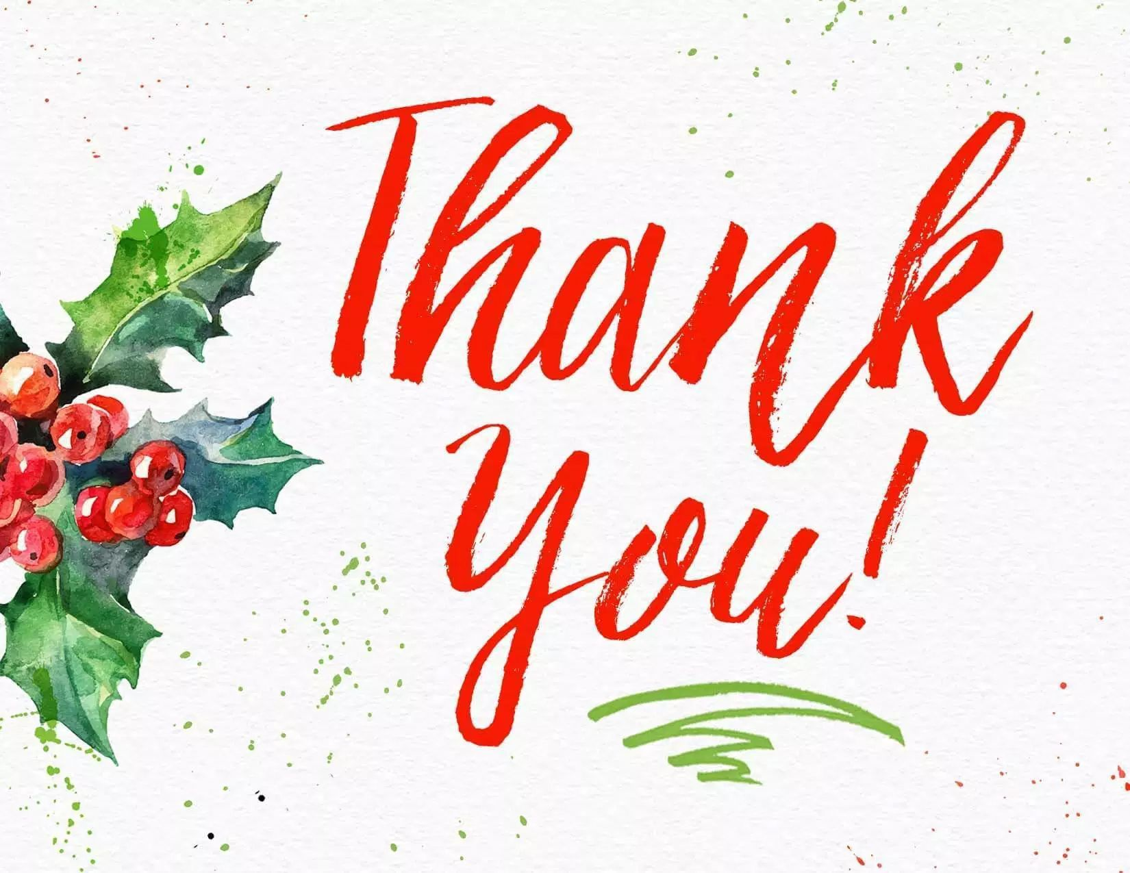 002 Rare Christma Thank You Note Template Free Picture  Letter CardFull