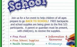 002 Rare Free School Event Flyer Template Design  Templates