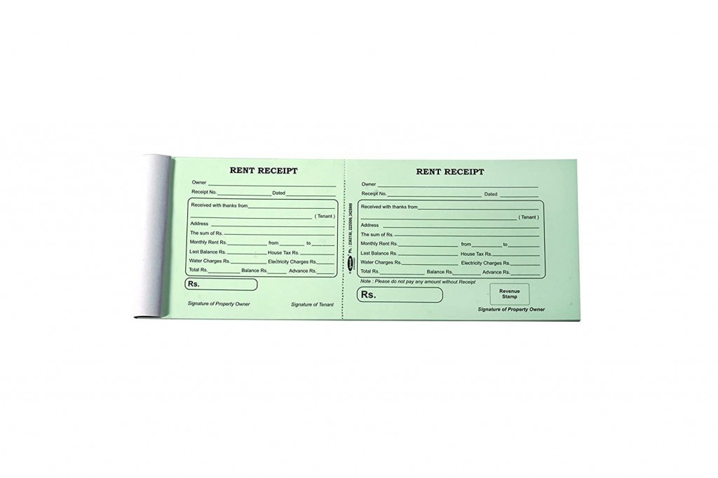 002 Rare House Rent Receipt Template India Doc Highest Quality  Format DownloadLarge