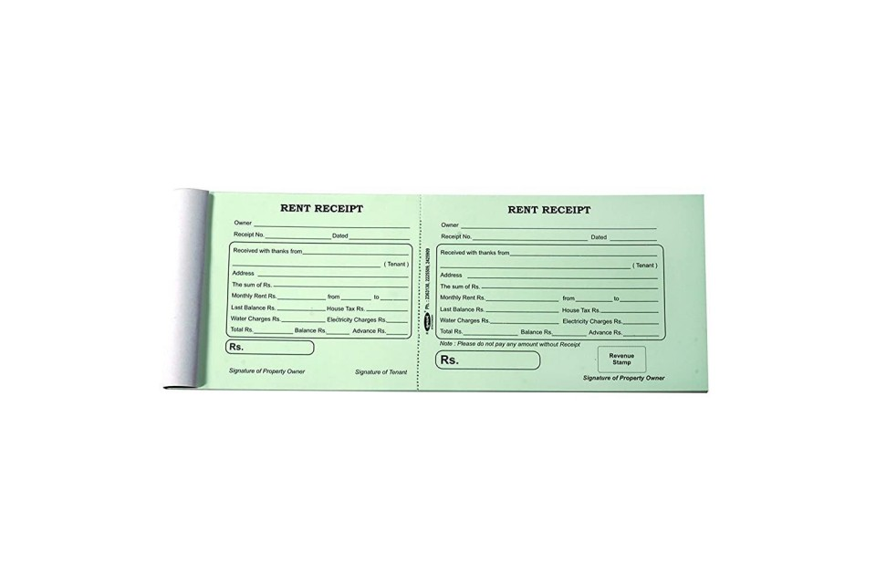 002 Rare House Rent Receipt Template India Doc Highest Quality  Format Download960