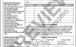 002 Rare Hvac Service Agreement Template Photo  Contract Form Maintenance Pdf