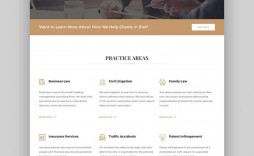 002 Rare Law Firm Website Template Free Example  Wordpres