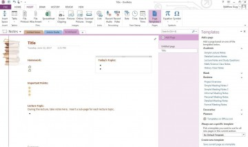 002 Rare Microsoft Onenote Project Management Template Idea 360