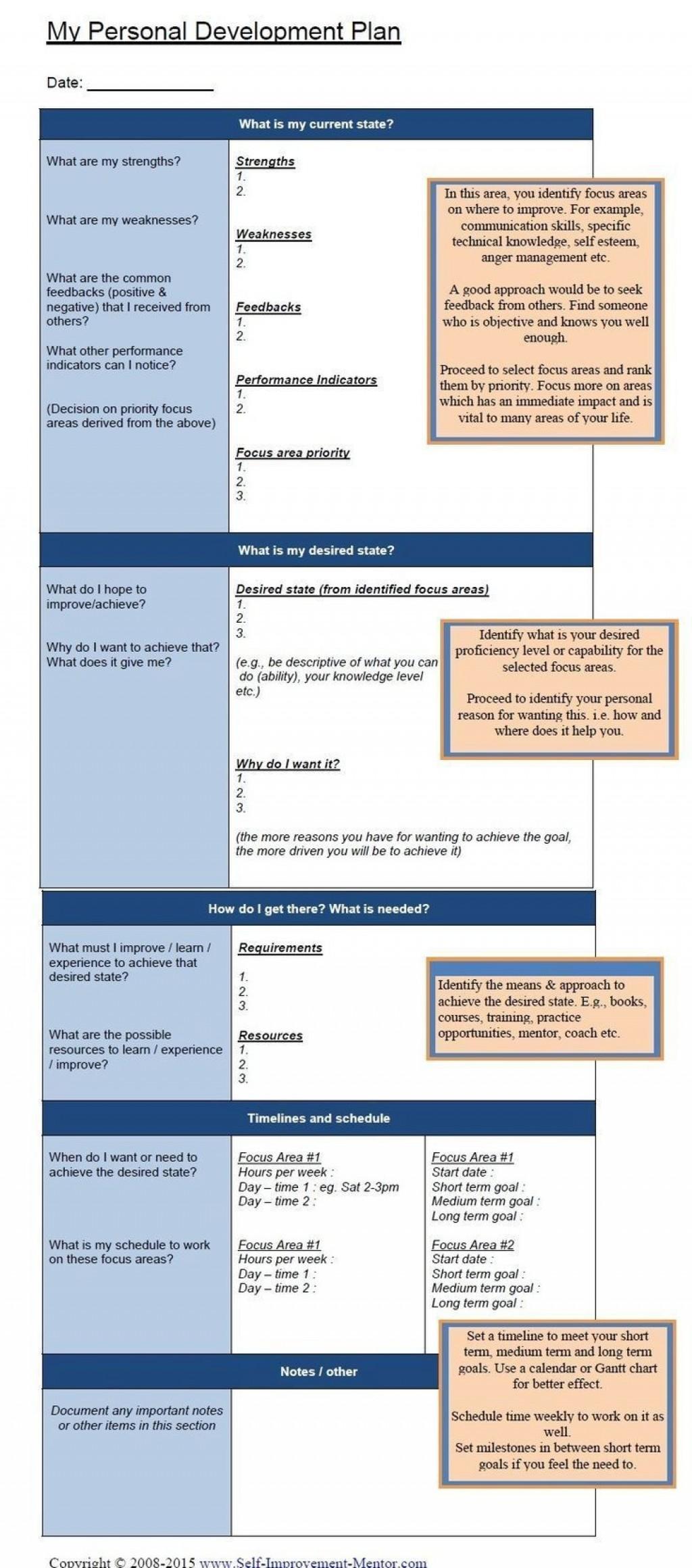 002 Rare Personal Development Plan Example Professional Doc Image Large