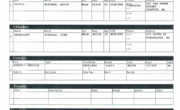 002 Rare Police Report Template Microsoft Word Highest Clarity
