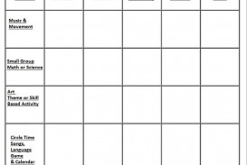 002 Rare Preschool Weekly Lesson Plan Template Idea  Pdf Sample Free Printable