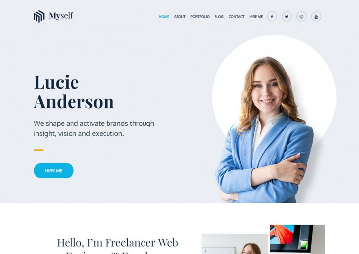 002 Rare Professional Busines Website Template Free Download Wordpres High Definition 728