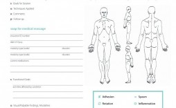 002 Rare Soap Note Template Pdf High Resolution  Massage Free Chiropractic