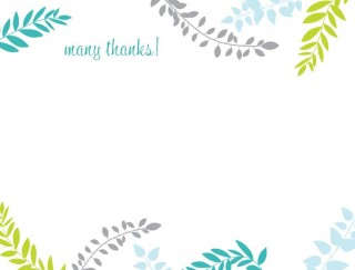 002 Rare Thank You Note Card Template Word Example 320