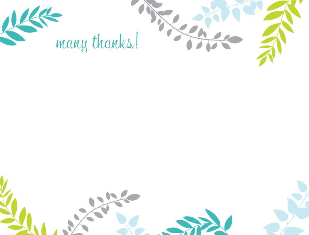 002 Rare Thank You Note Card Template Word Example Full