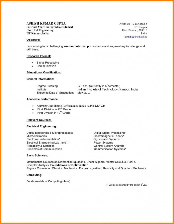 002 Rare Undergraduate Student Cv Template Picture  College Resume Format Pdf Curriculum Vitae Sample Engineering Example