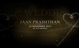 002 Remarkable After Effect Wedding Template High Definition  Templates Free Download Cc Invitation