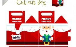002 Remarkable Christma Gift Box Template Free Printable High Def  Tree