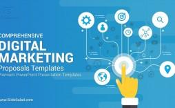 002 Remarkable Digital Marketing Plan Sample Ppt Picture