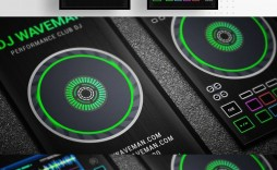 002 Remarkable Dj Busines Card Template High Resolution  Psd Free Download