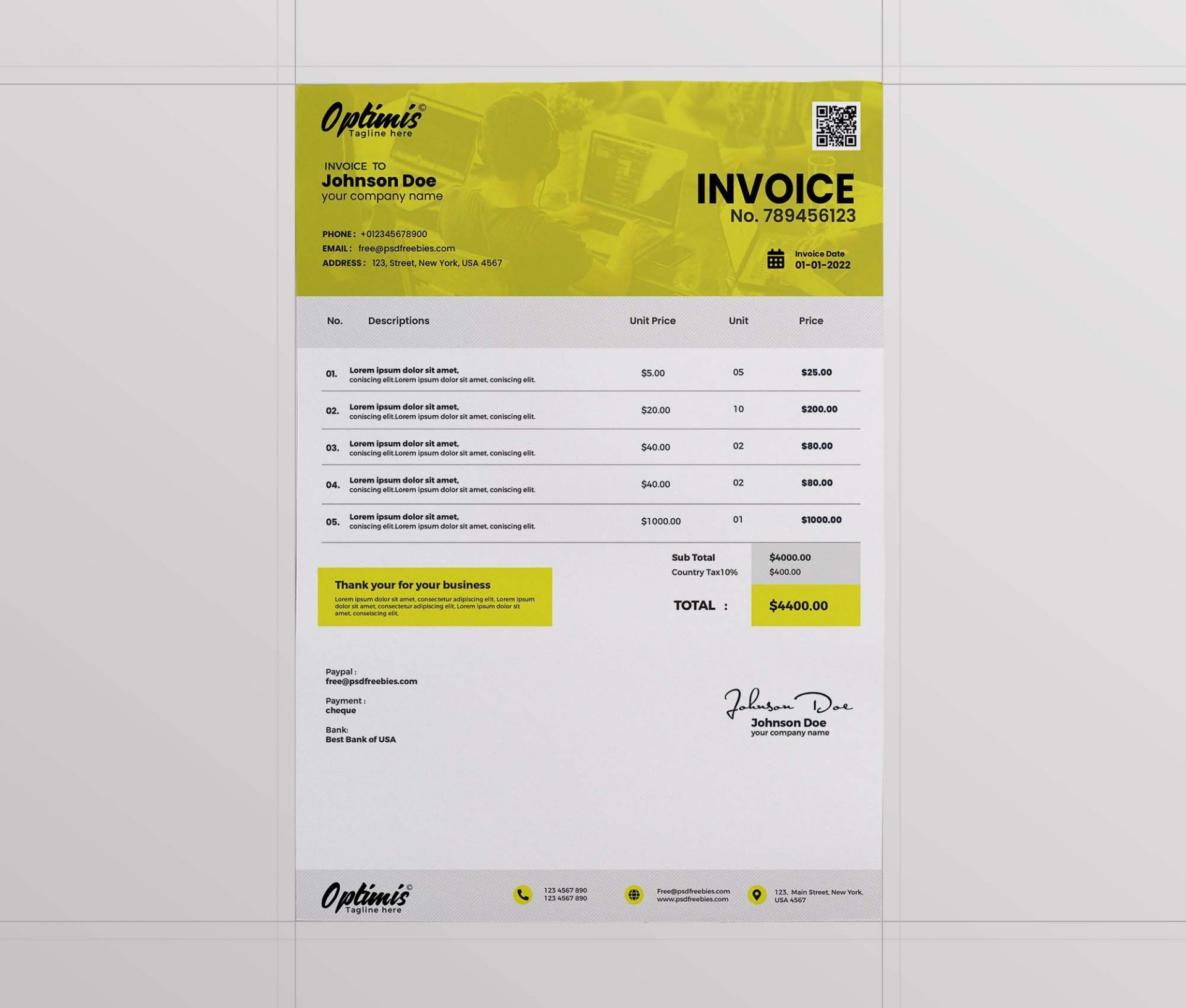 002 Remarkable Free Downloadable Invoice Template Highest Quality  Templates Excel Printable Word Sample1920