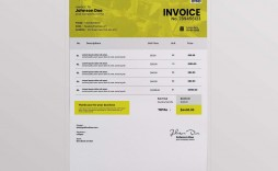 002 Remarkable Free Downloadable Invoice Template Highest Quality  Templates Excel Printable Word Sample