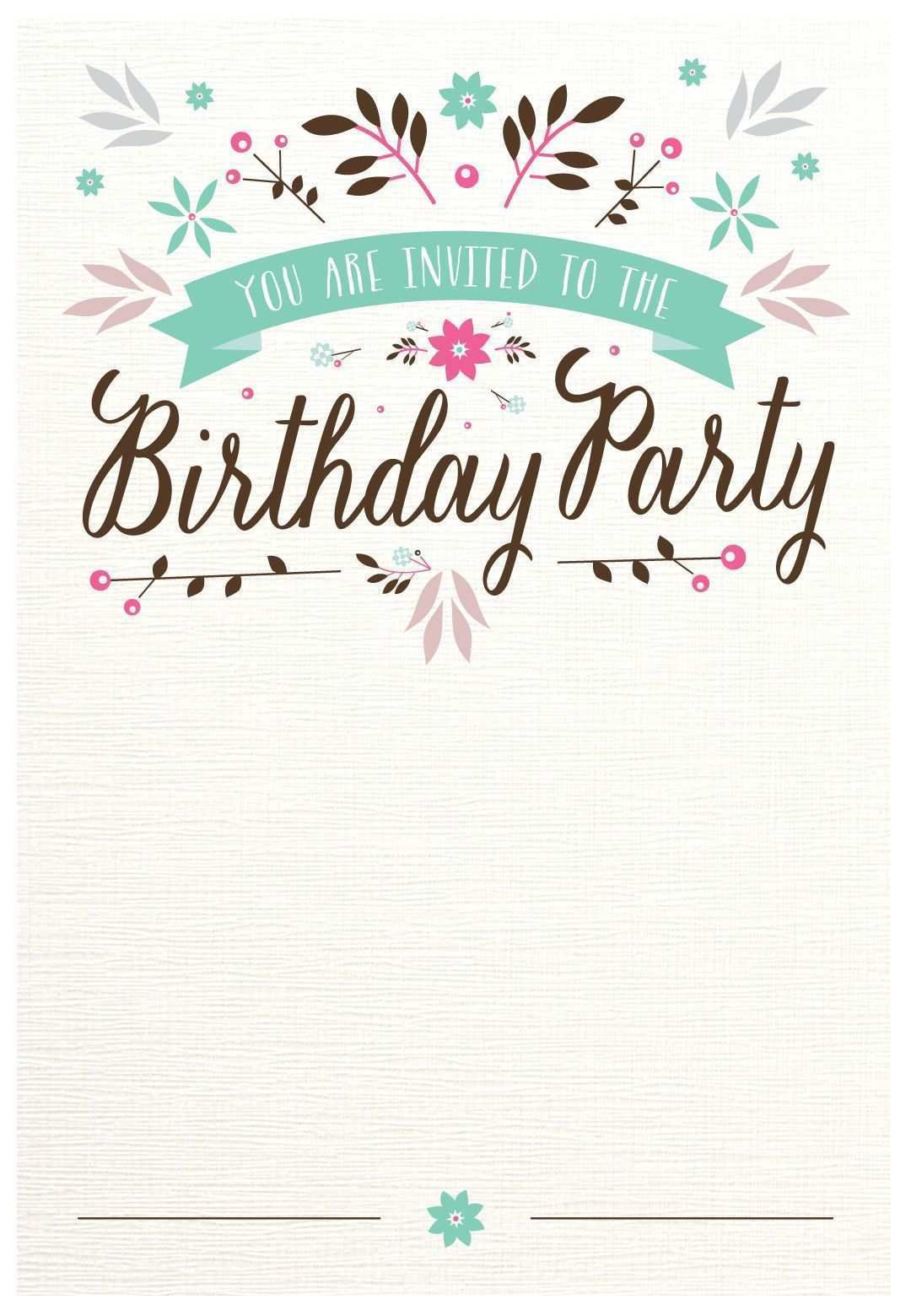 002 Remarkable Free Printable Birthday Card Template For Mac Idea Full