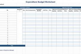 002 Remarkable Line Item Budget Form Sample  Template Spreadsheet Format