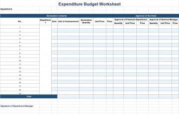 002 Remarkable Line Item Budget Form Sample  Template Spreadsheet Format360
