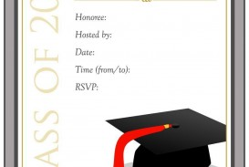 002 Remarkable Microsoft Word Graduation Party Invitation Template Design