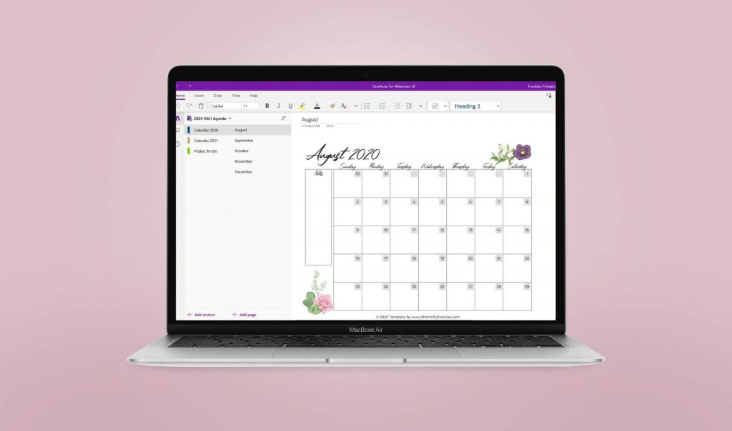 002 Remarkable Onenote Project Management Template Download Highest Quality Large