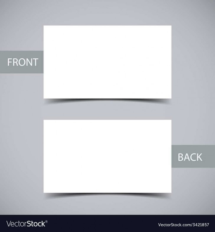 002 Remarkable Plain Busines Card Template Sample  White Free Download Blank Printable Word 2010728