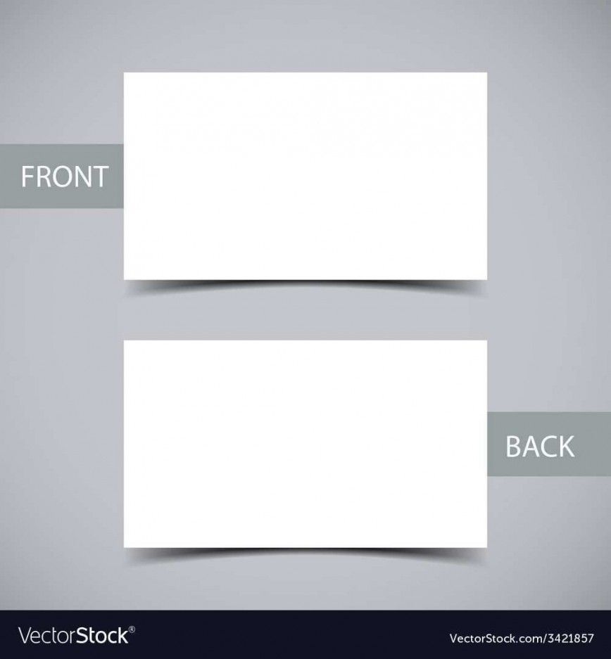 002 Remarkable Plain Busines Card Template Sample  White Free Download Blank Printable Word 2010868