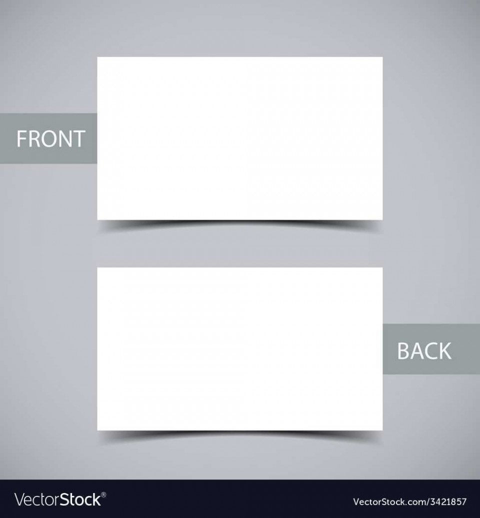 002 Remarkable Plain Busines Card Template Sample  White Free Download Blank Printable Word 2010960