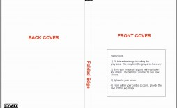 002 Remarkable Printable Cd Sleeve Template Inspiration  Free Case Cover Blank Jewel