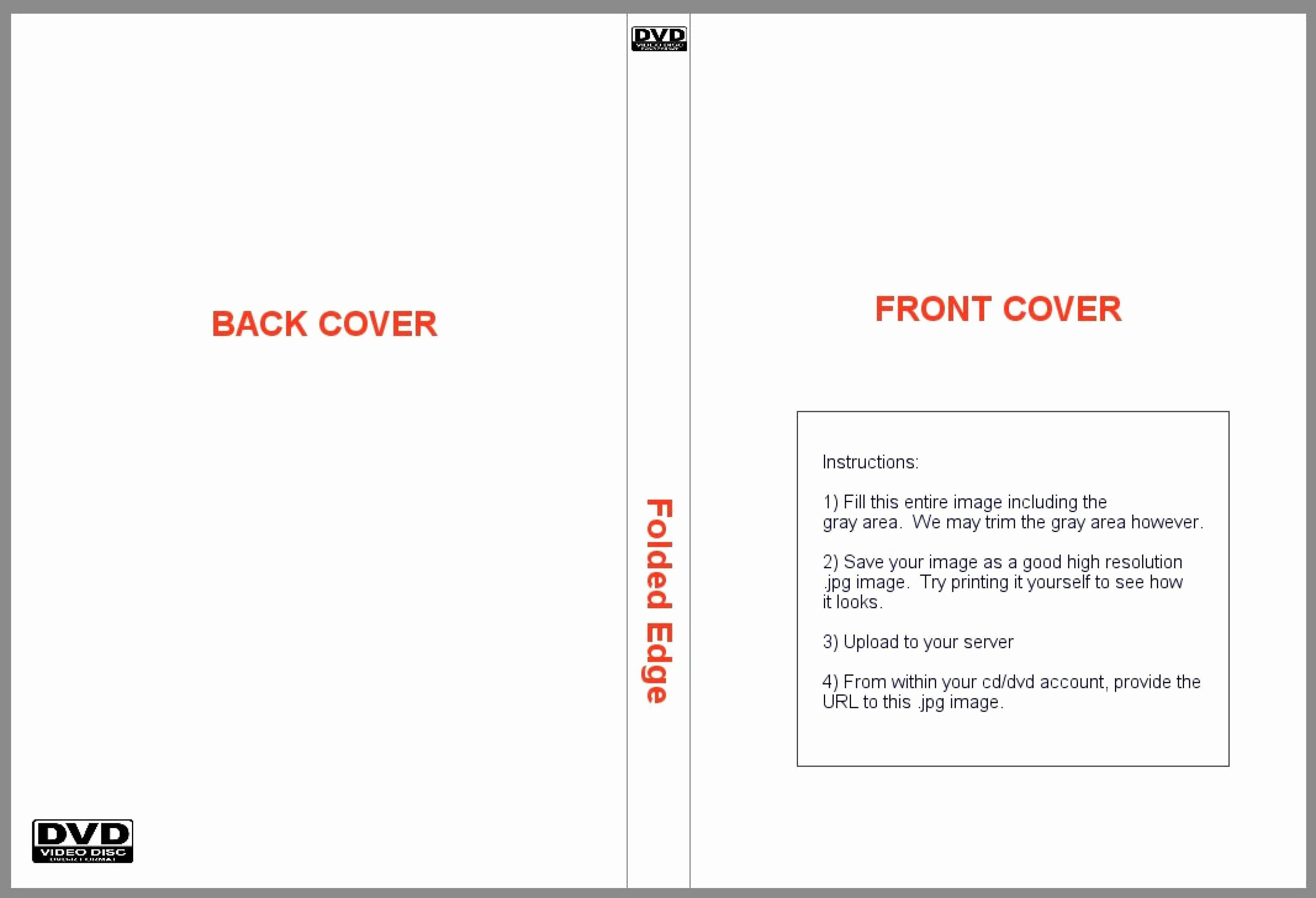002 Remarkable Printable Cd Sleeve Template Inspiration  Free Case Cover Blank JewelFull