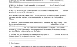 002 Remarkable Property Development Joint Venture Agreement Template Uk Example