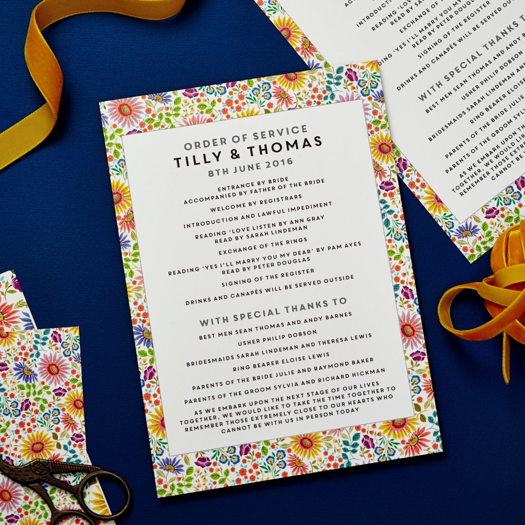 002 Remarkable Traditional Wedding Order Of Service Template Uk Image Large