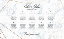 002 Remarkable Wedding Seating Chart Template Design  Templates Plan Excel Word Microsoft