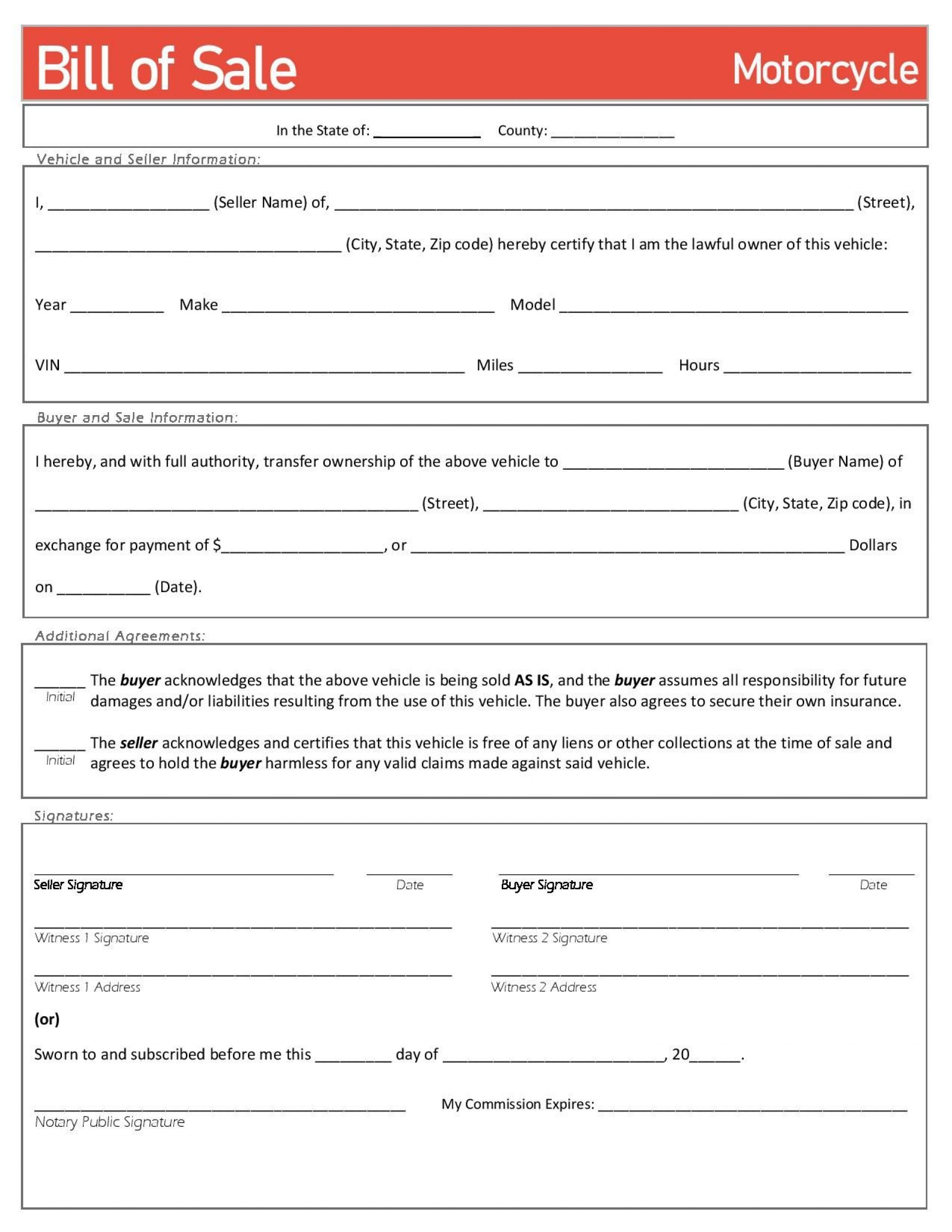 002 Sensational Bill Of Sale Template Texa Highest Quality  Texas Free Car Form Dmv Document1920