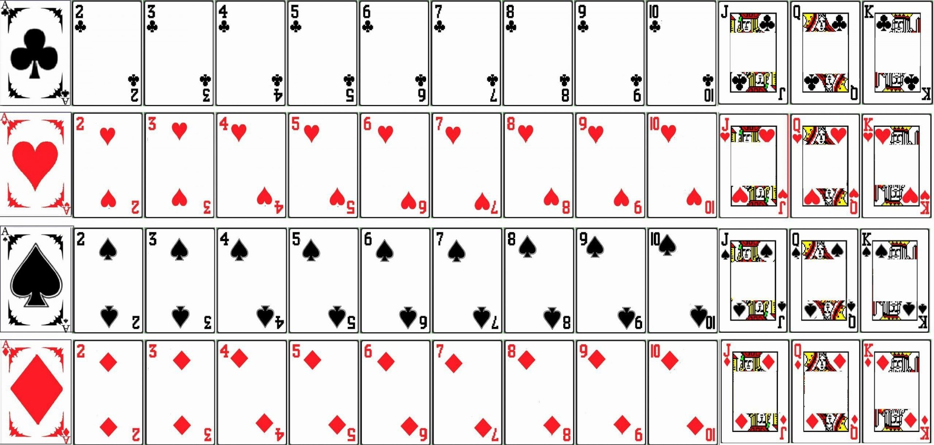 002 Sensational Blank Playing Card Template Word Inspiration 1920