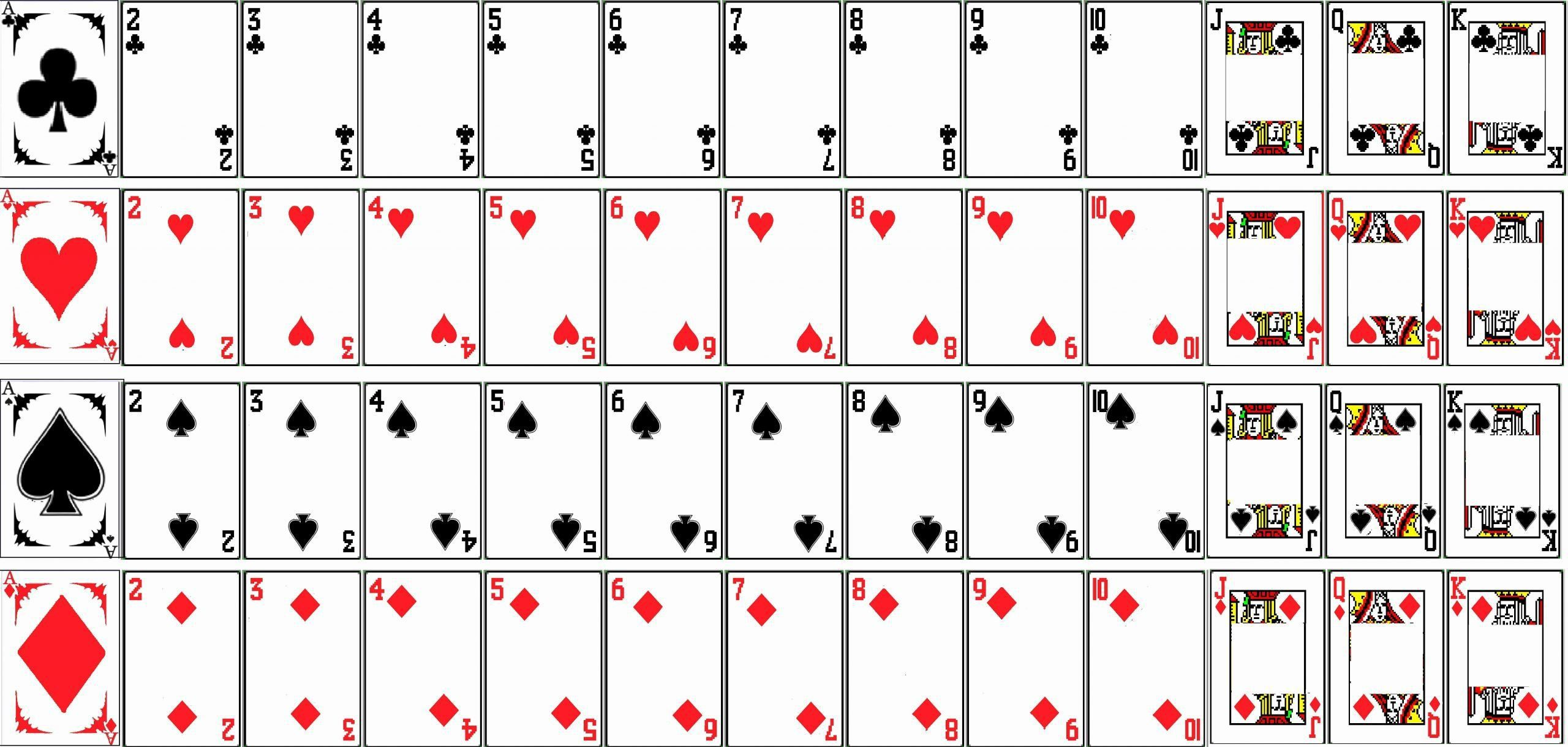 002 Sensational Blank Playing Card Template Word Inspiration Full