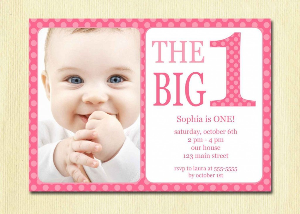 002 Sensational Free 1st Birthday Invitation Template For Word Highest Clarity Large