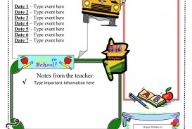 002 Sensational Free Teacher Newsletter Template Sample  Classroom For Microsoft Word Google Doc