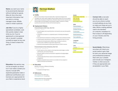002 Sensational Make A Resume Template Image  Create For Free How To Good480
