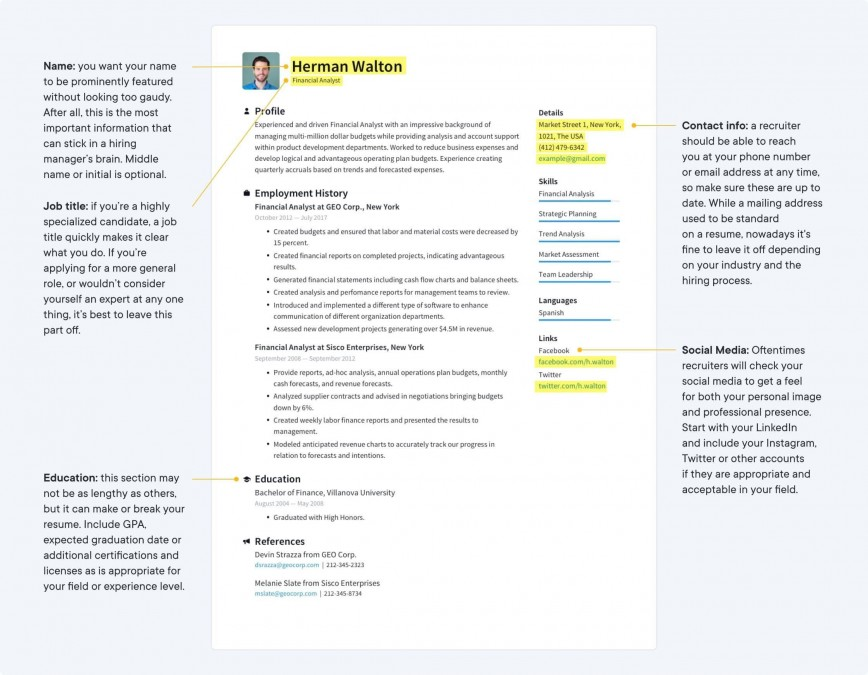 002 Sensational Make A Resume Template Image  Create For Free How To Good868