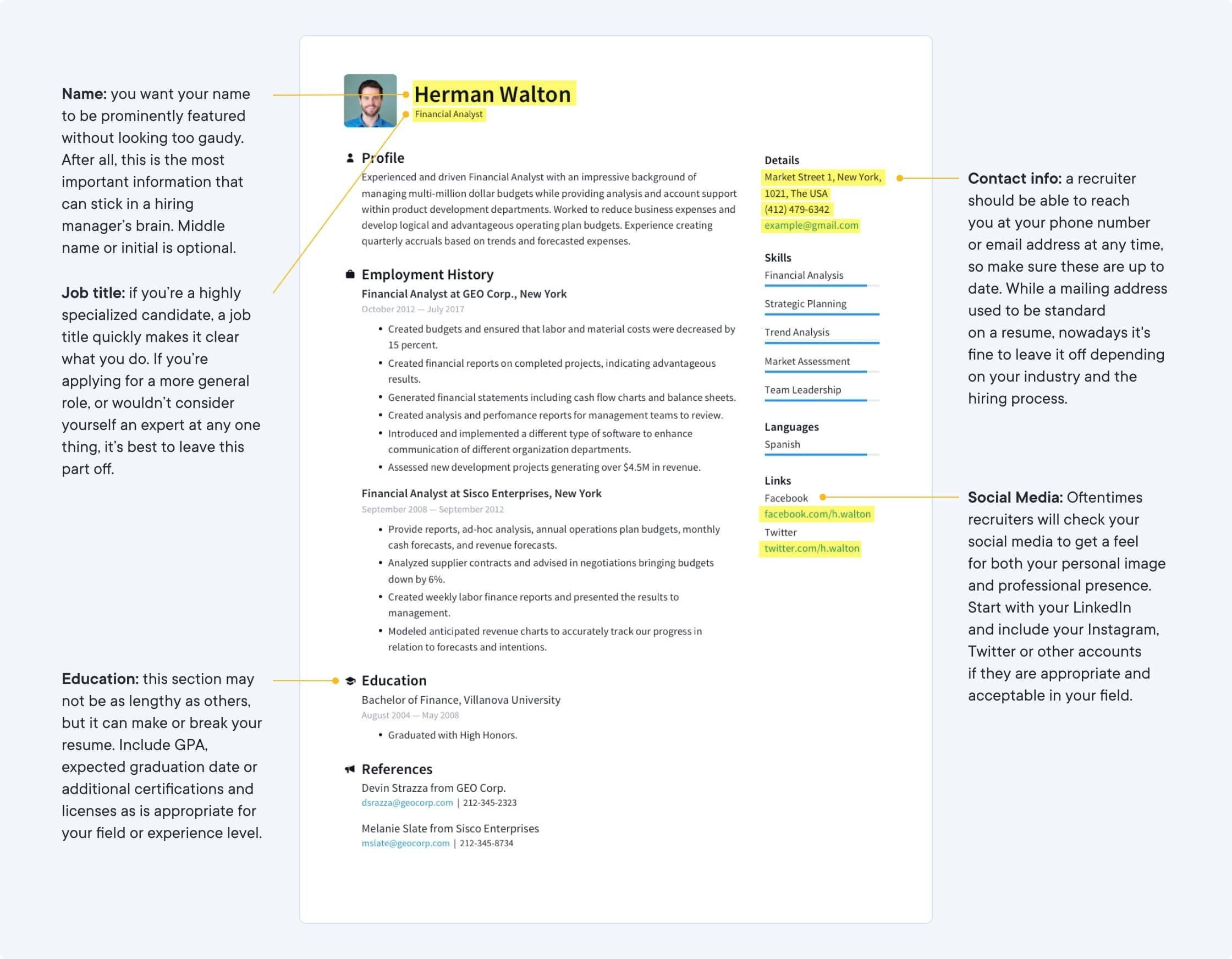 002 Sensational Make A Resume Template Image  Create For Free How To Good