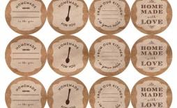 002 Sensational Mason Jar Label Template Idea  Word Avery