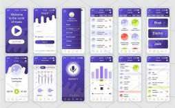 002 Sensational Mobile App Design Template Inspiration  Size Free Download Ui Psd