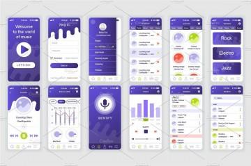 002 Sensational Mobile App Design Template Inspiration  Size Adobe Xd Ui Psd Free Download360