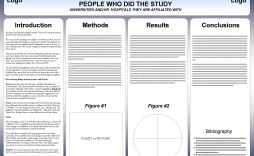 002 Sensational Research Poster Template Powerpoint Design  Scientific Ppt
